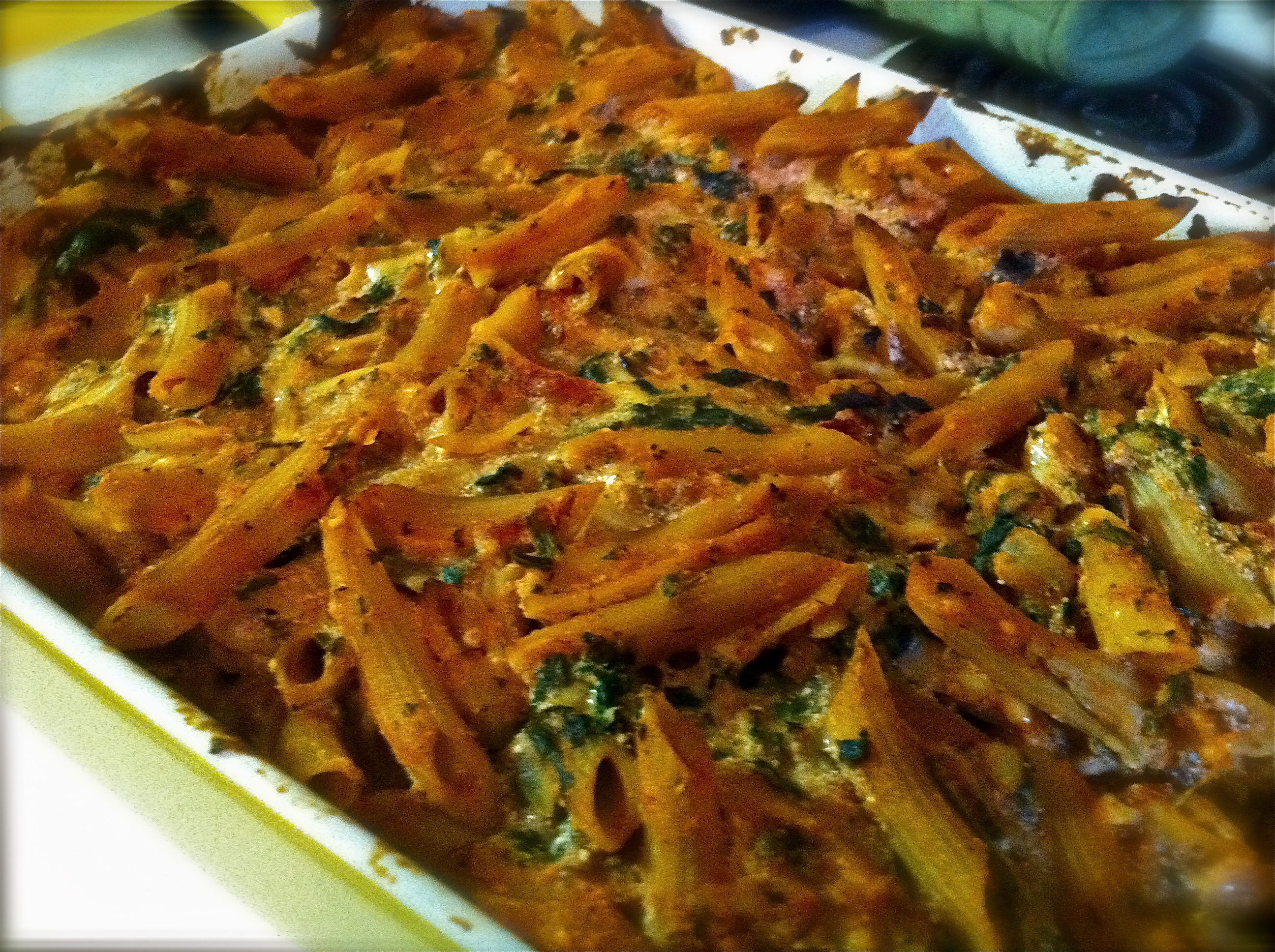 Vegetarian Baked Ziti | Ashley Sweeney RD