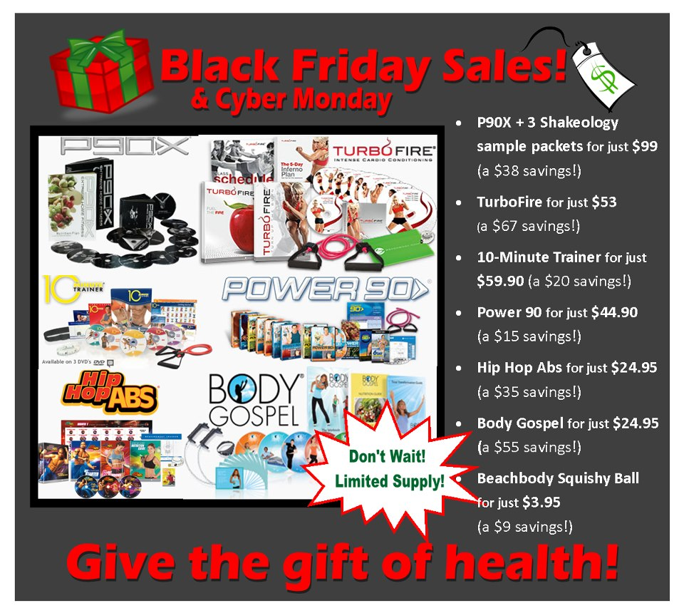 beachbody black friday cyber monday special