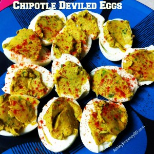 Chipotle Deviled Eggs Recipe — Dishmaps